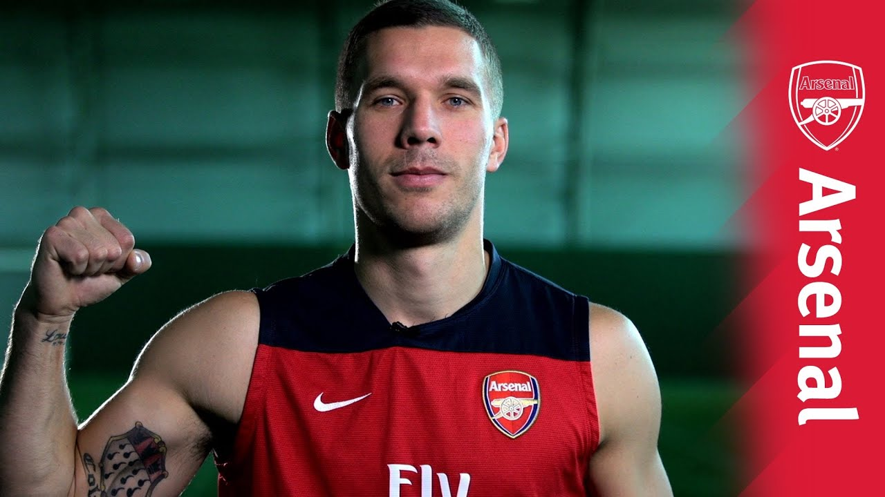 wholesale dealer b5787 1590a Arsenal Ink: Lukas Podolski