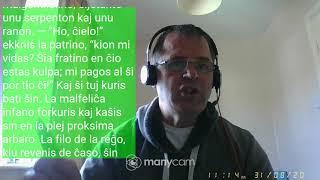 Fundamento De Esperanto Ekzerco 21 –  Participo – elĵetante