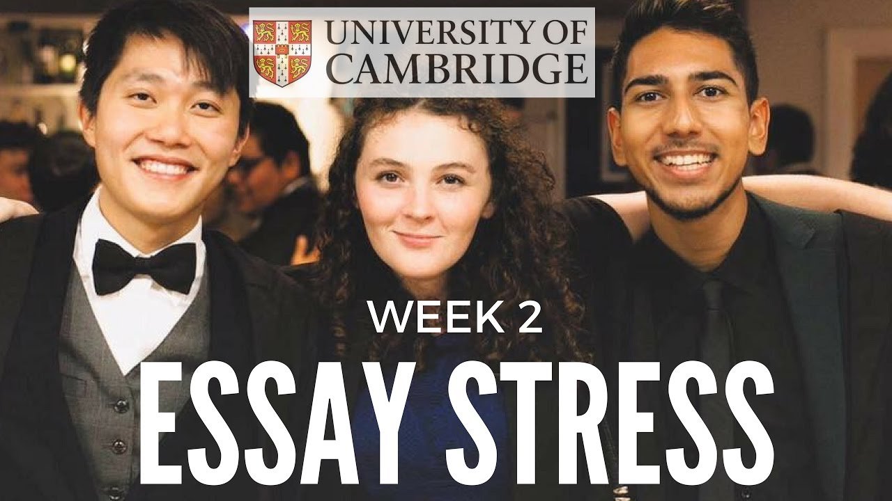 essay stress week cambridge university
