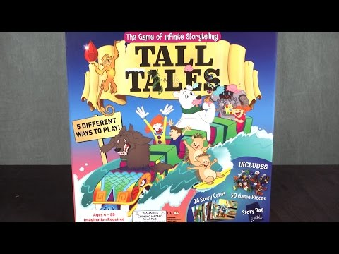 Tall Tales The Game of Infinite Storytelling from SCS Direct