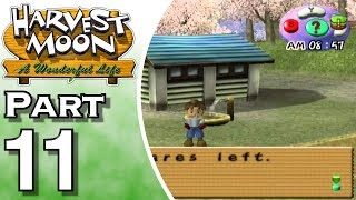 Harvest Moon: A Wonderful Life Part 11: A Heart Scene!