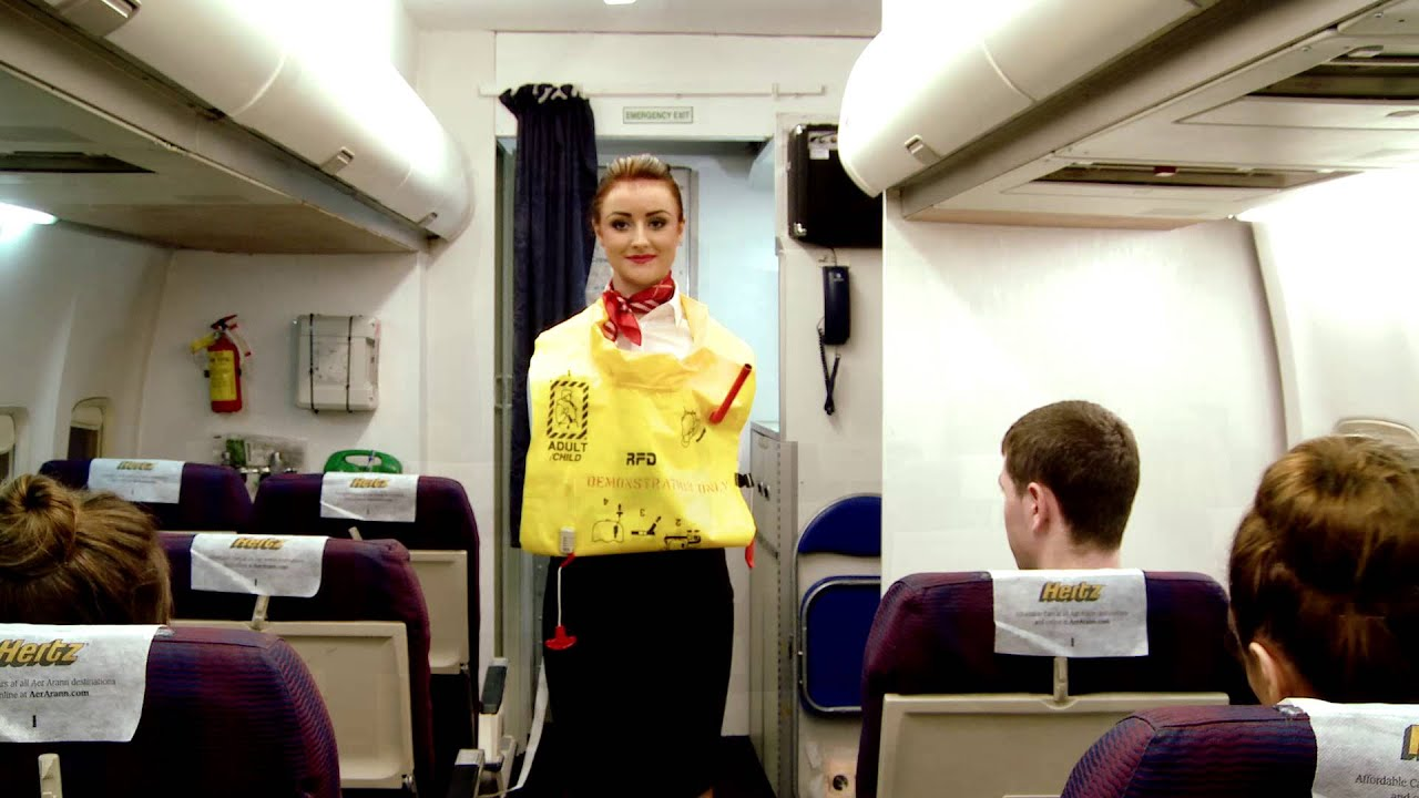 Iaot In Flight Safety Demonstration Youtube