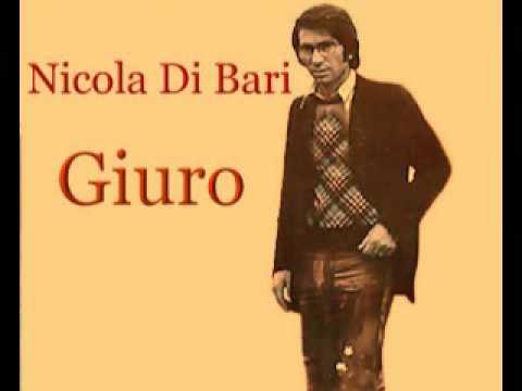 Nicola di Bari  - Giuro - Testo - lyric