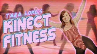 Best Fitness Games For Kinect - Tara Long's Fitness Challenge!