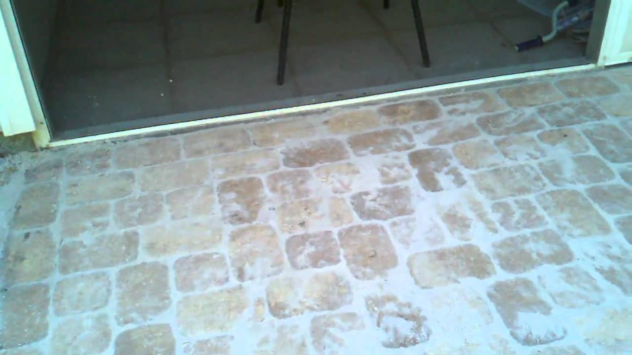 Brick Paver 6x9 And 6x6 Patio For Grilling YouTube