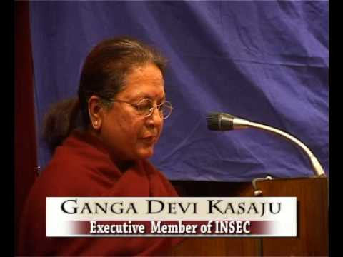welcome speech of Ganga Devi Kasaju