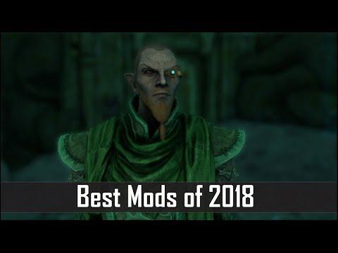 Skyrim: Top 5 Best Mods of 2018