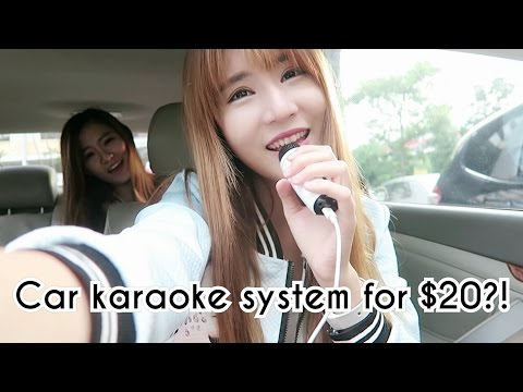 $20 CAR KARAOKE SYSTEM?! - Michy Recommends: EP1