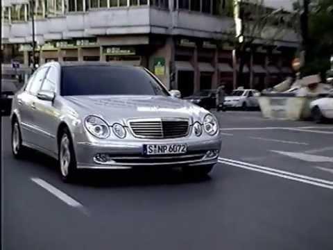 Mercedes-Benz E-Klasse Werbung 2002
