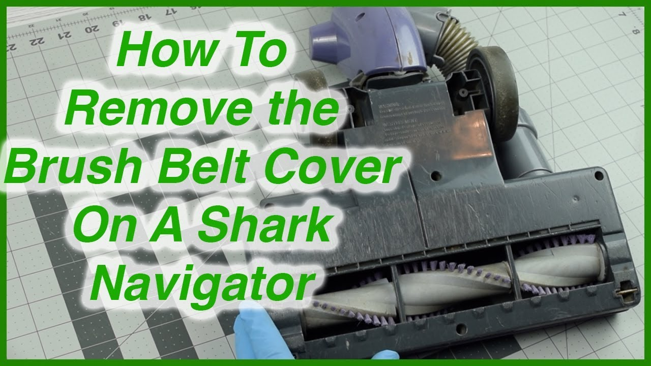 Shark Vacuum Models >> How to Open Brush Roll Bottom Plate on A Shark Navigator ...