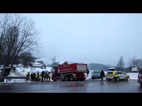 Østlandets Blad: Eldre kvinne omkom i boligbrann i Ski