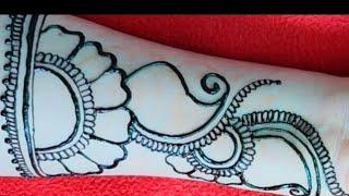 very easy mehndi design for hand || karwa chouth mehndi || henna design || arabic mehndi design.