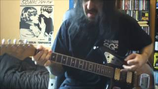 Nailbomb - Wasting Away - guitar cover - Full HD