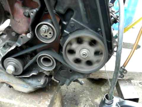 Vauxhall Vectra 1 7 Turbo Diesel Timing Belt Installation