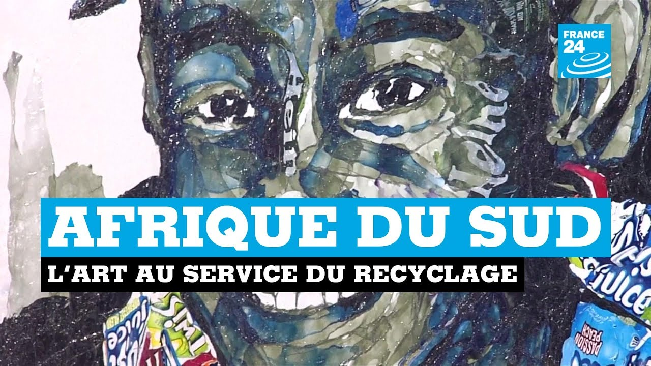 art africain recyclage