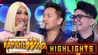 Vice, Vhong and Jhong reminisce their childhood | It's Showtime KapareWho