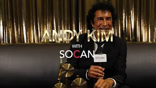 Andy Kim with SOCAN