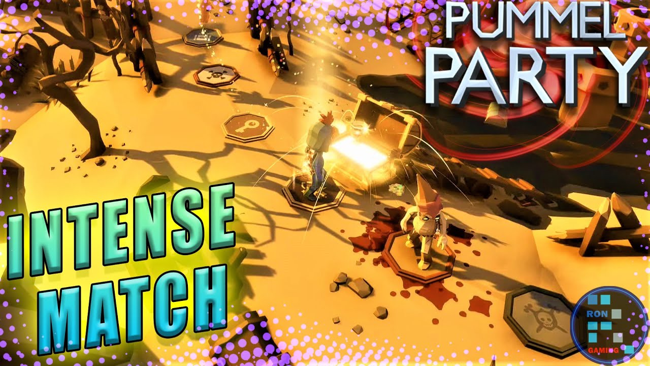 Pummel Party | We Use Weapons On Eachother To Get First Goblet