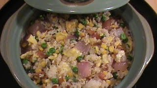 Bacon Fried Rice -- Quick & Easy Chinese Cuisine  By Chinese Home Cooking Weeknight Show