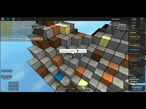 Roblox glitch, Wall hack , Epic Mining 2 (2017)