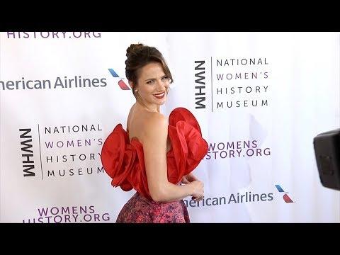 "Shantel VanSanten 2018 ""Women Making History Awards"" Red Carpet"
