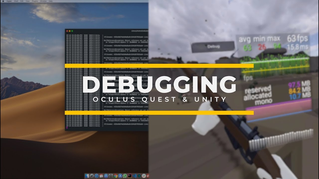 Debugging Oculus Quest Games with Unity