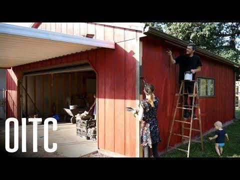 DIY Family Restores the Garage! How to Fix Your Hard to Open Door