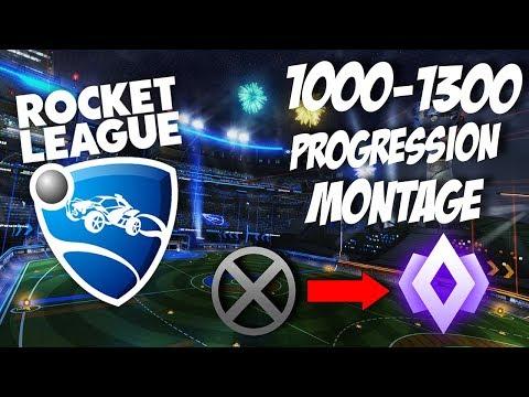 1000-1300 Hour Rocket League Progression Montage