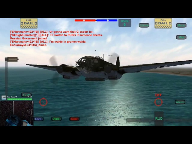 Wings of Duty He-111 and Fw-190a4  Formation Flight   LIVE