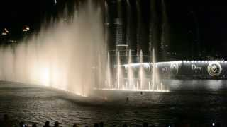 THE DUBAI FOUNTAIN 2013 | Ain't no mountain high enough