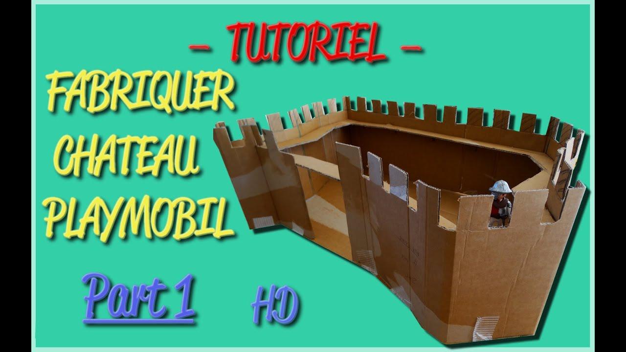 Fabriquer chateau playmobil 1 tutoriel playmobil for Meuble chateau fort tunisie