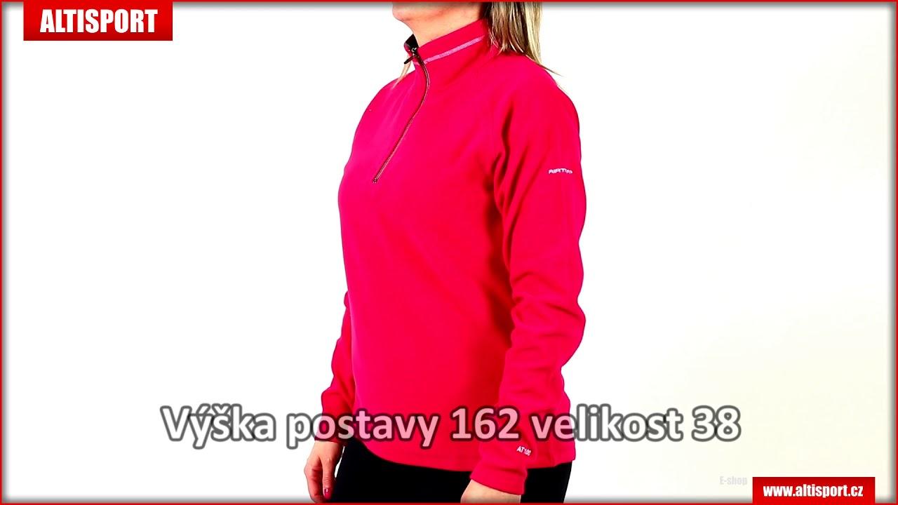 be21eef45 dámská fleecová mikina trespass skylar pink lady