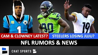 NFL Rumors & News On Jadeveon Clowney, Cam Newton's Future, JuJu Smith-Schuster & Justin Herbert