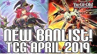 Yu-Gi-Oh! OFFICIAL TCG BANLIST APRIL 2019!  Sky Strikers Hit!!!