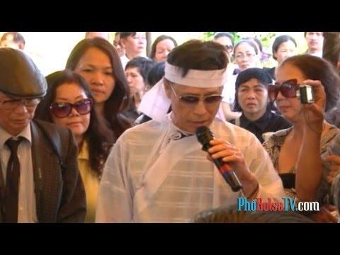 Đám tang nhạc sĩ Phạm Duy tràn đầy lời ca tiếng hát
