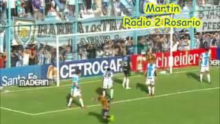 Atletico Rafaela 1 - Rosario Central 1 (Relato de Julian Martin) Torneo Primera Division 2015
