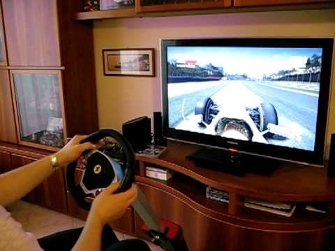 Thrustmaster Ferrari Wireless Gt Cockpit 430 Scuderia