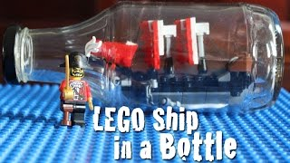 How to Build a LEGO Ship in a Bottle