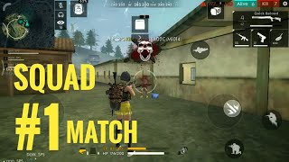 Squad #1 Match Classic Bermuda | Free Fire Squad Game Play | SPS | Tamil