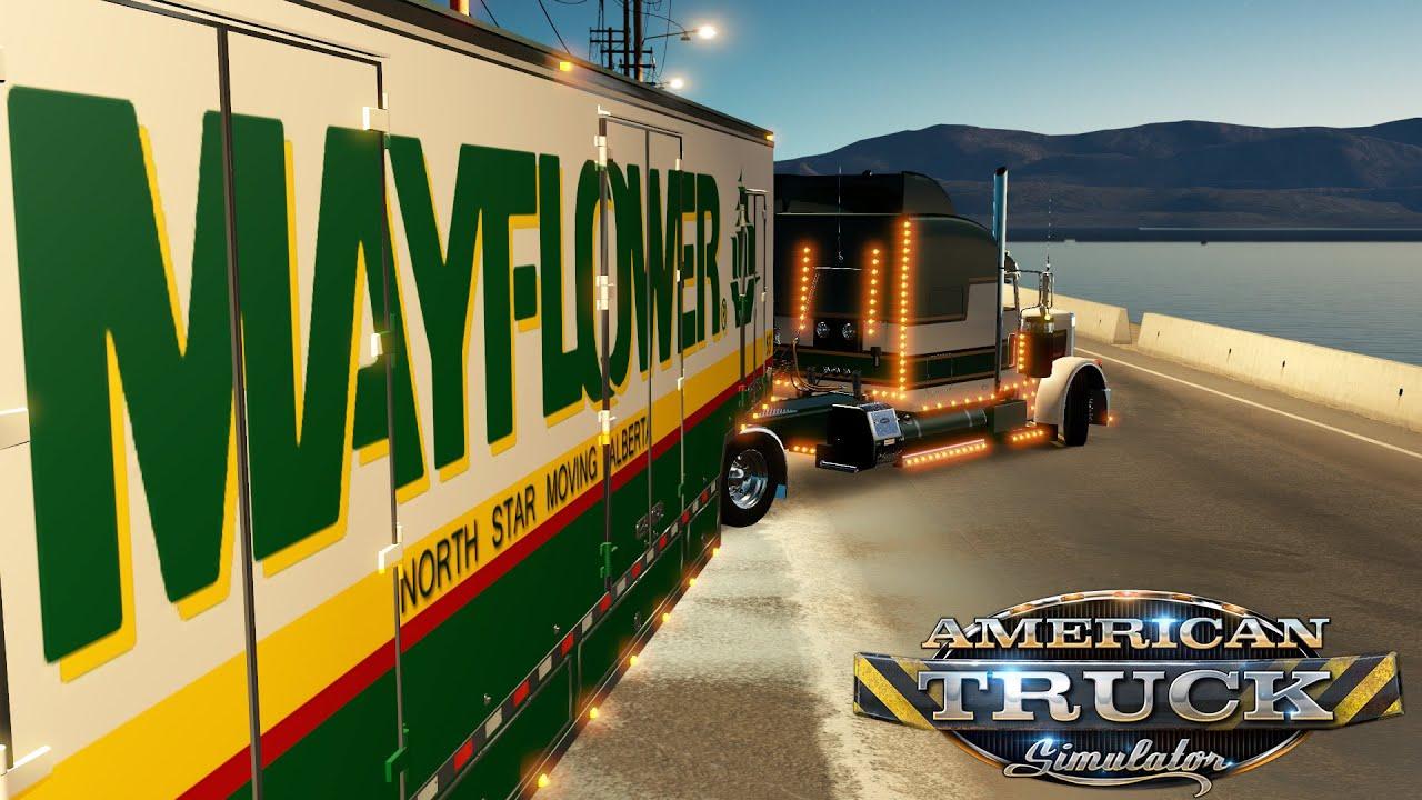 American Truck Simulator PETERBILT 389   SHORT RUN