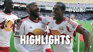 HIGHLIGHTS: DC United vs New York Red Bulls | November 8, 2014