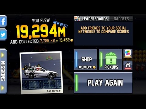 Jetpack Joyride World Record (19 294 M!!!)