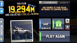 Jetpack Joyride World Record (19 294 M!!!) outdated*