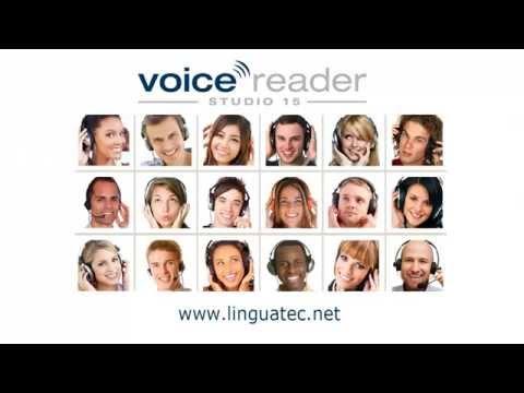 Tutorial Linguatec Text-to-Speech Voice Reader Studio 15 English - Use Voice Markups