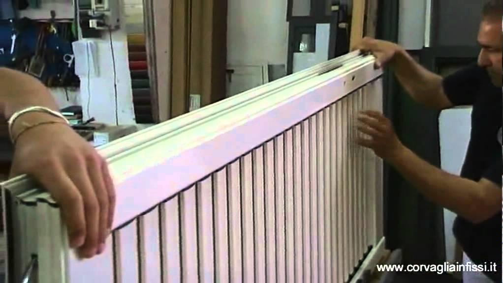 Corvaglia infissi: persiana blindata in alluminio orientabile youtube