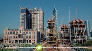 Al Habtoor City Construction Progress Time-lapse (April 2012 – October 2017)