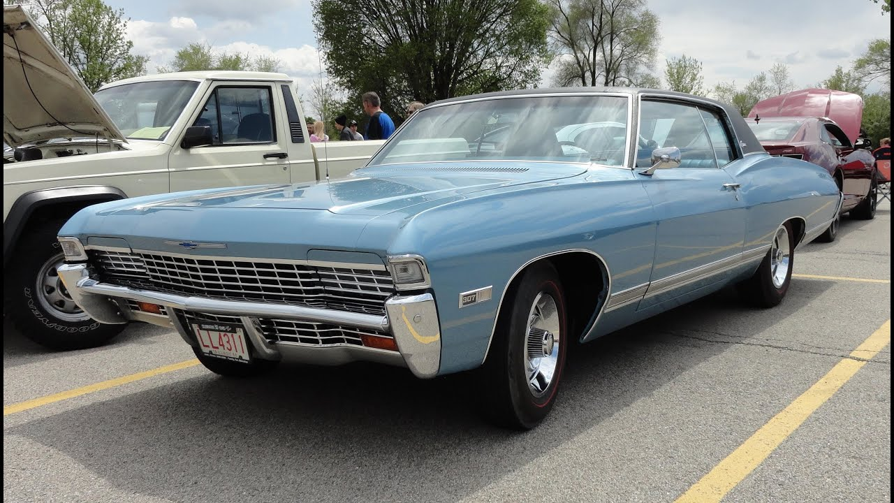 1968 Charger For Sale >> 1968 Chevrolet Chevy Caprice with Hideaway Headlights - My Car Story with Lou Costabile - YouTube