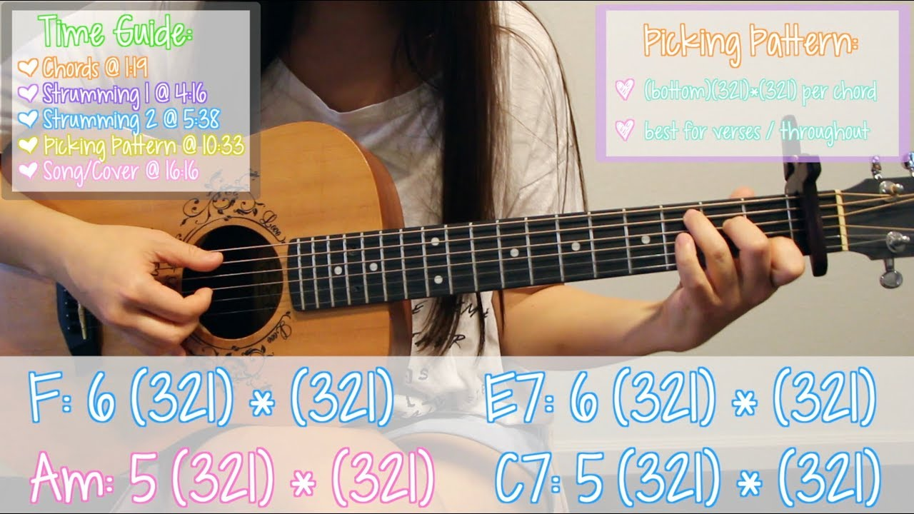 Thank U Next Ariana Grande Easy Guitar Tutorial Chordsstrummingpickingcover