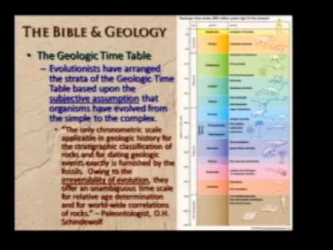 The Bible and Geology