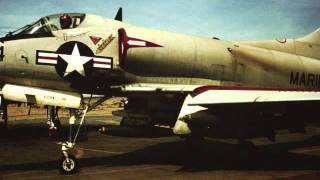 Chu Lai VietNam VMA 225 A4 Skyhawk 1965 Woody Slides Part 12.wmv